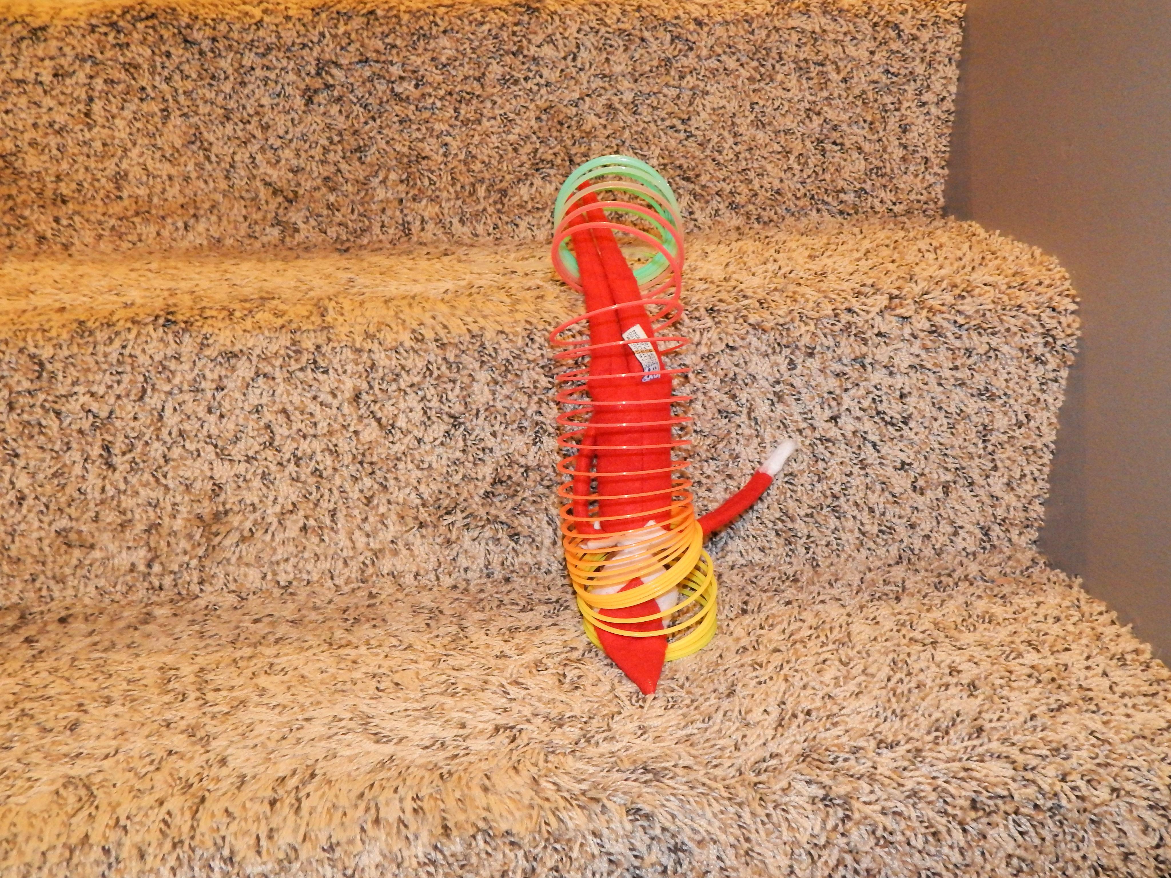 Elf On The Shelf Stair Ideas