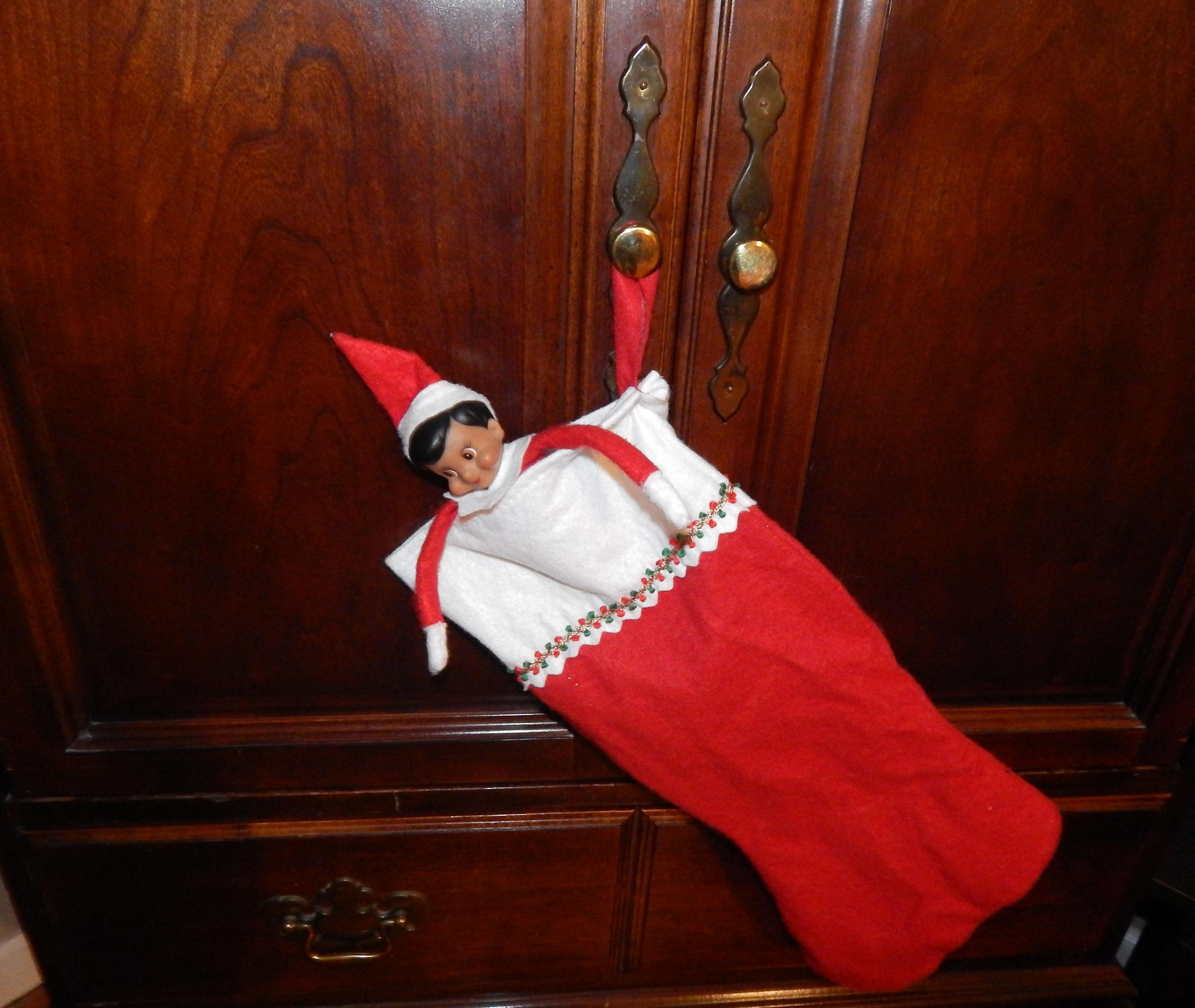 Elf On The Shelf Stocking Ideas