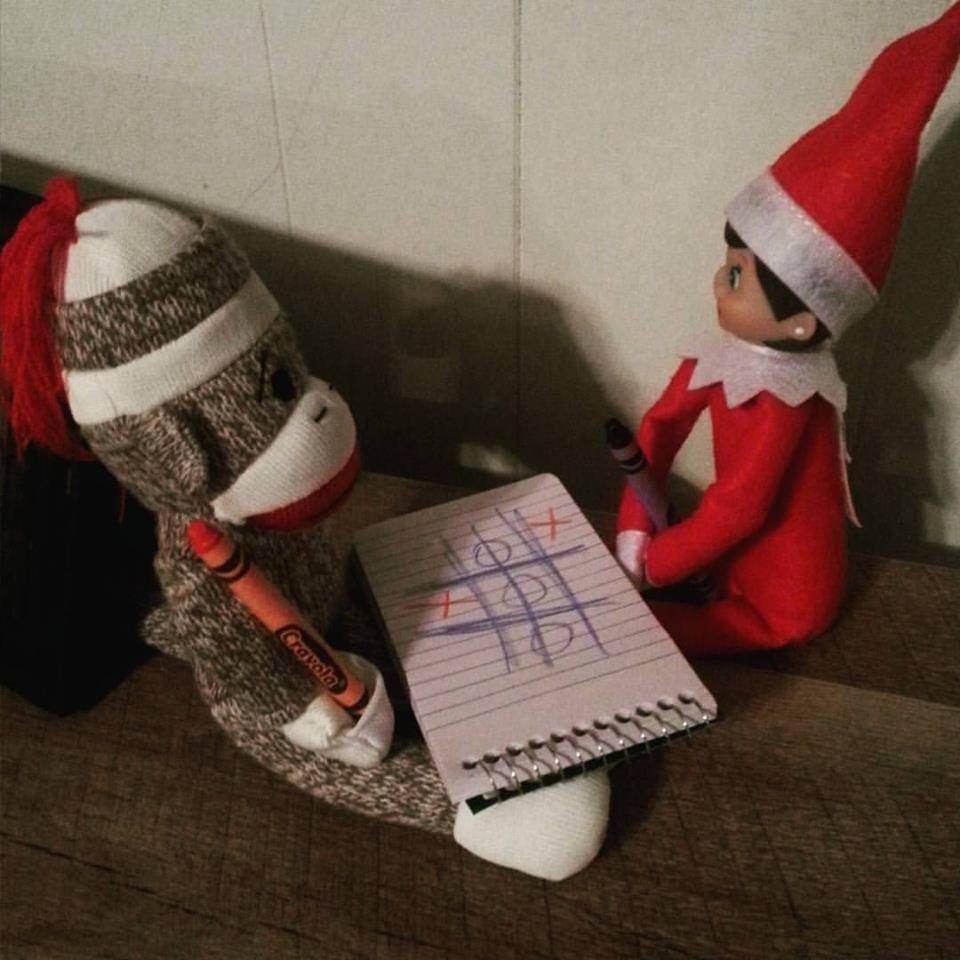 Elf On The Shelf Games