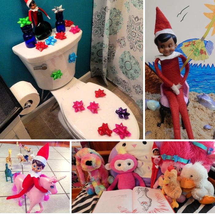 collage of elf ideas