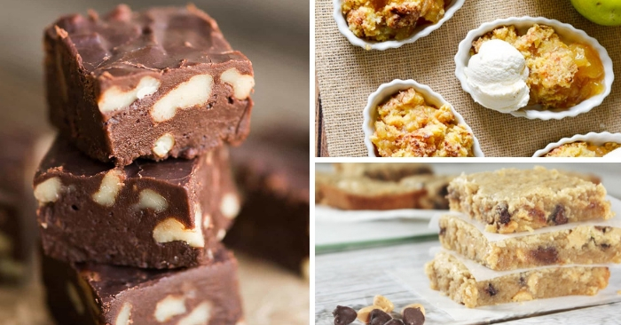 Simple Dessert Recipes To Whip Up In No Time
