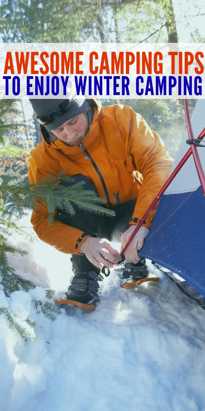 winter camping hacks #onecrazyhouse #tentcamping #wintercamping