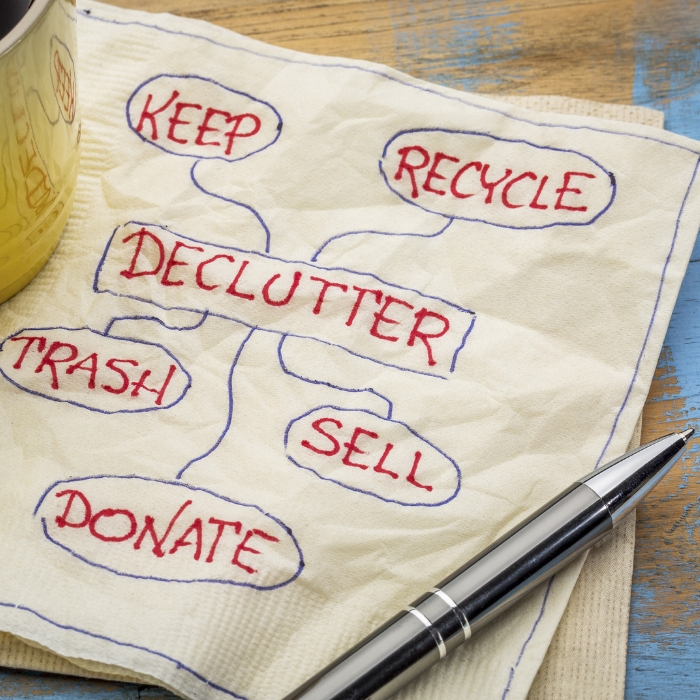 The cons of the KonMari Decluttering Method #OneCrazyHouse #Declutter #Organization #HomeOrganization #HomeTips