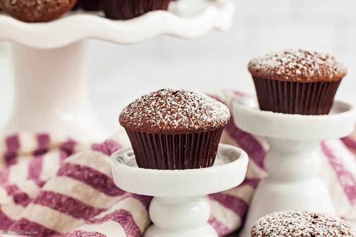 mini brownies make good road trip snacks