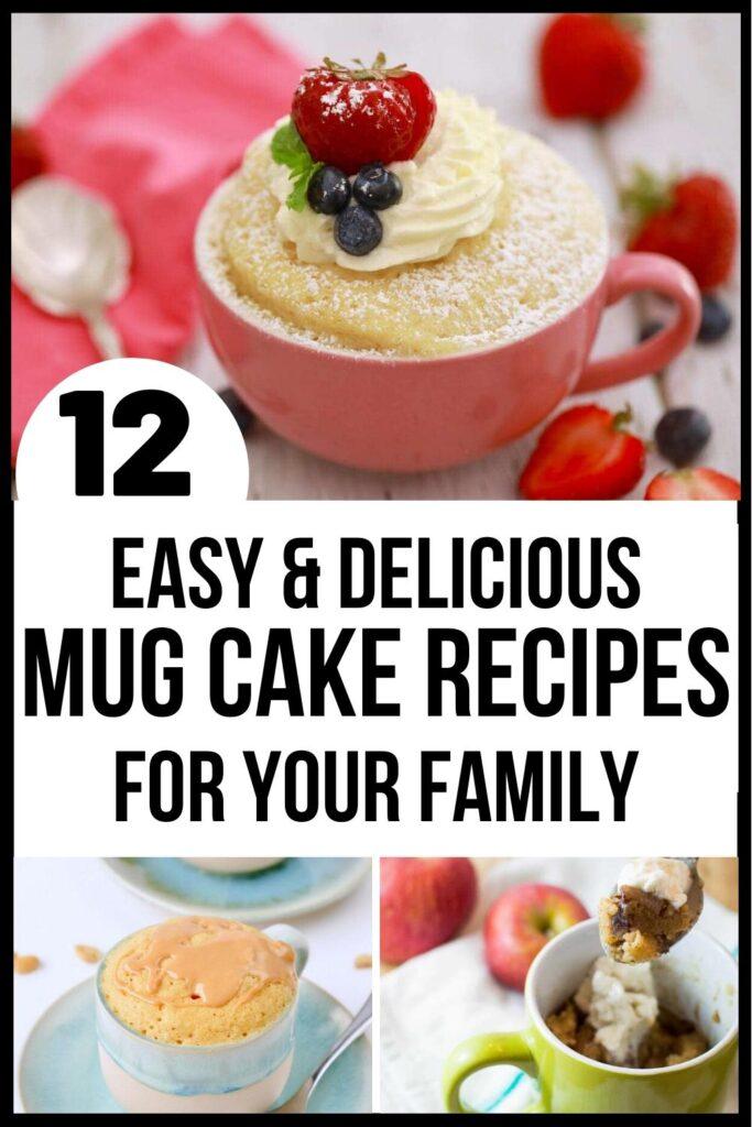 mug cake pin image