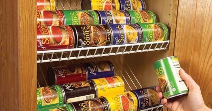 Pantry Storage Ideas: 16 Top Canned Food Storage Hacks