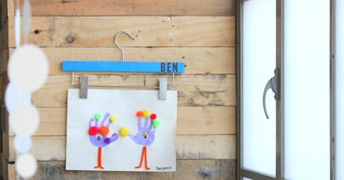 11 Genius Kids' Art Display Ideas to Reduce Clutter