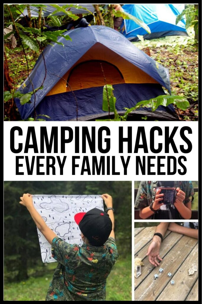 Genius Camping Hacks Pin Image A