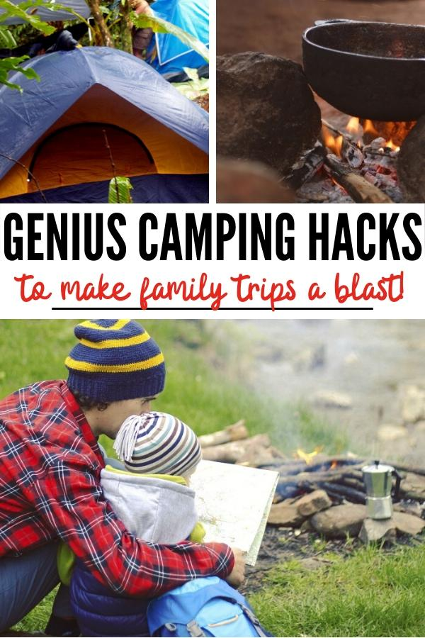 Genius Camping Hacks Pin Image B