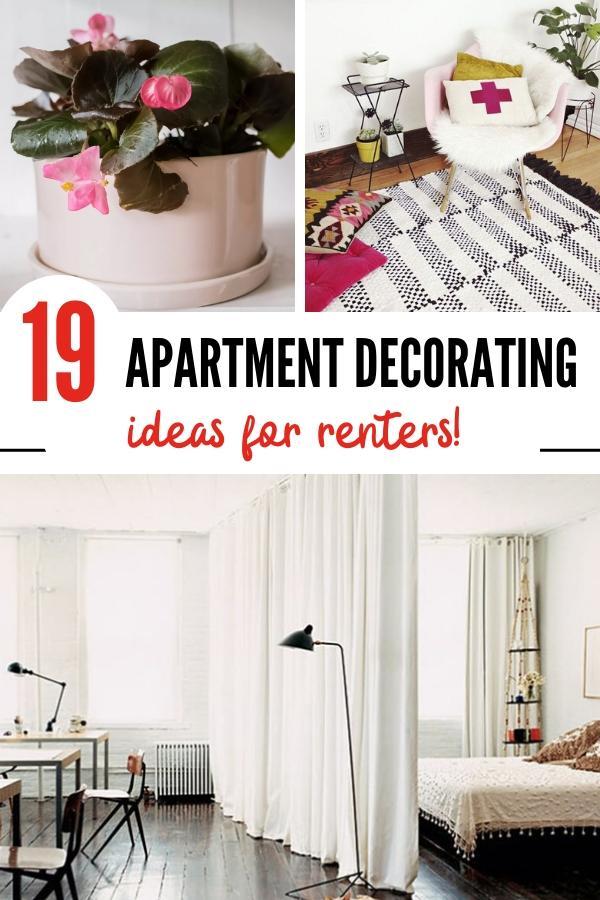apartment decorating ideas pin image B