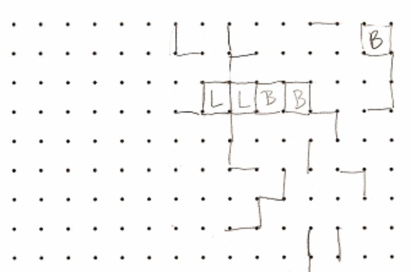 Lines and dots activity example