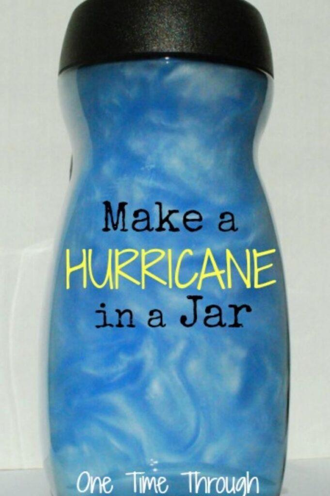 Hurricane in a jar