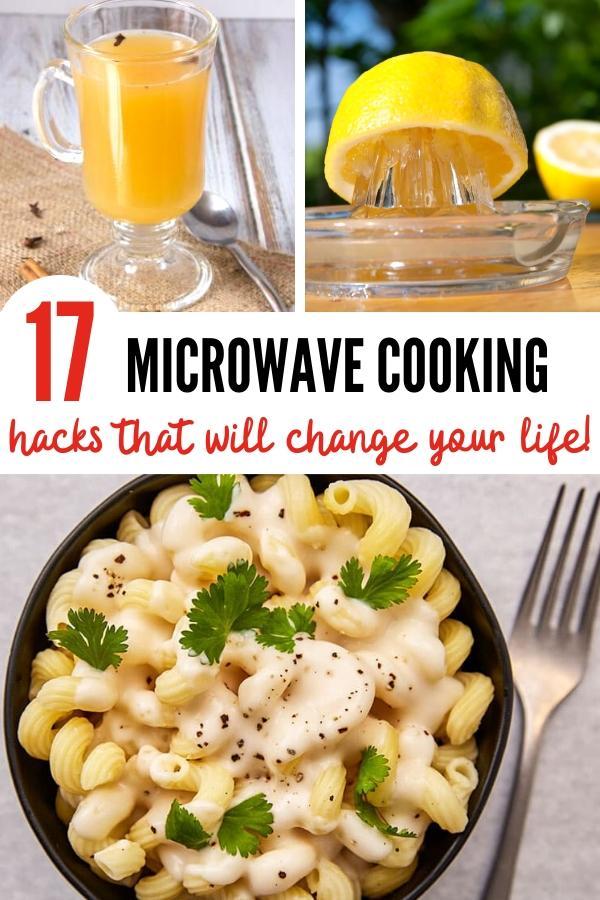 microwave cooking hacks Pin image B