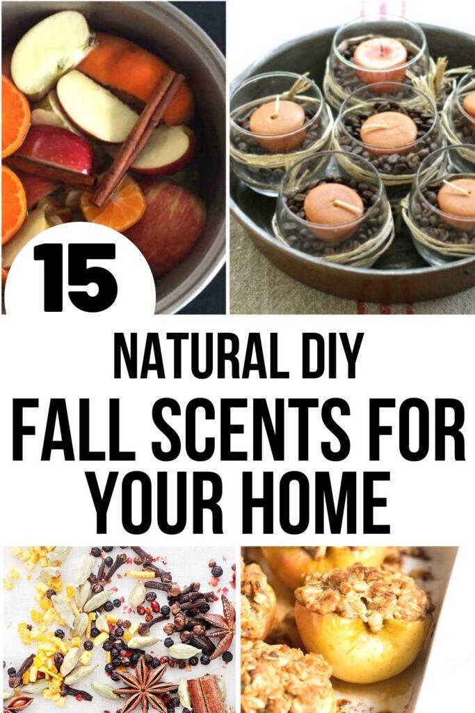 DIY fall scents