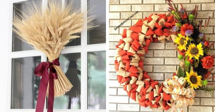 Stunning DIY Fall Wreaths That Are Easy To Make