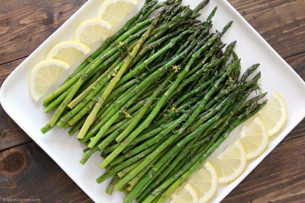 lemon dill asparagus sautee