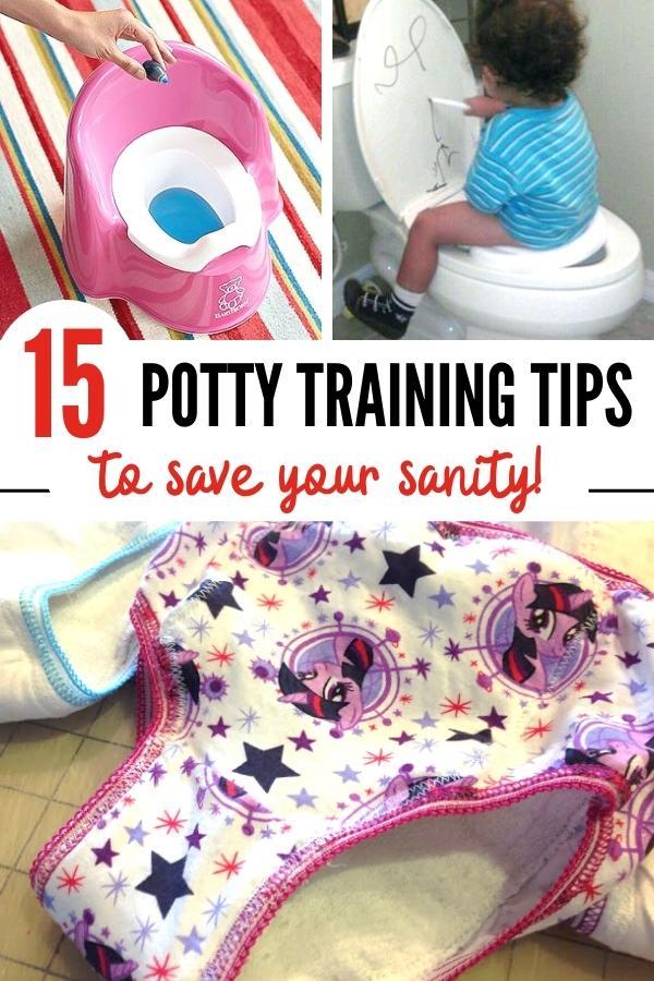 Potty training tips Pin B