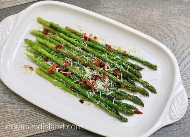 bacon parmesan grilled asparagus