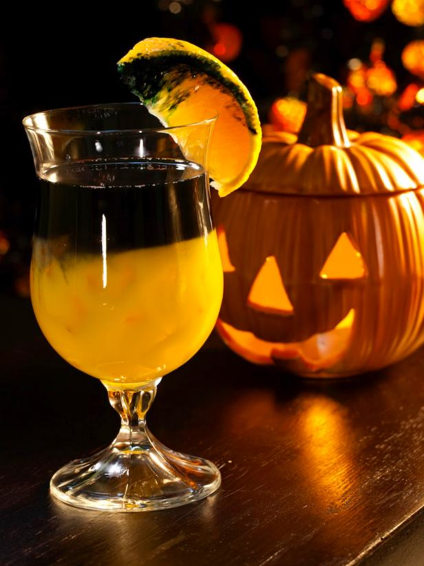 black magic Halloween cocktail