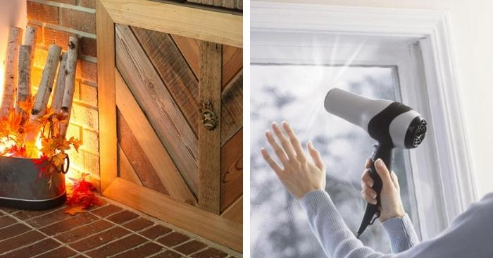 15 Low-Tech Drafty Window and Door Fixes for a Cozy Home