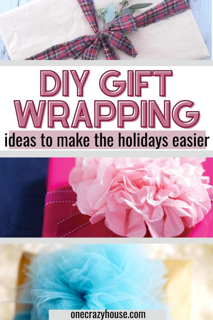DIY gift wrapping ideas and hacks