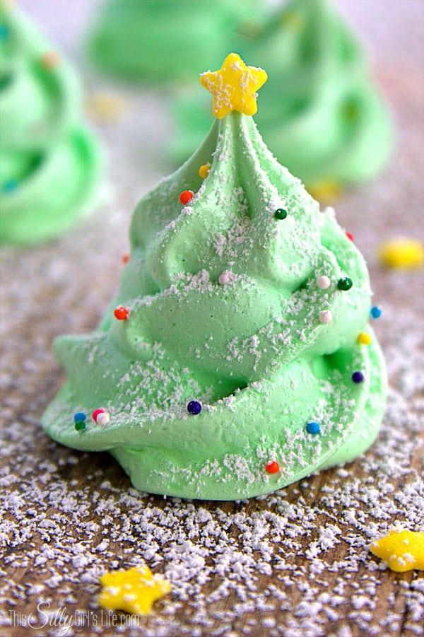 Meringue Christmas cookie recipes