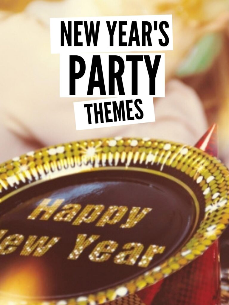 new year's party themes pin
