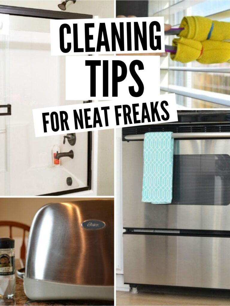 House cleaning tips for neat freaks pin image