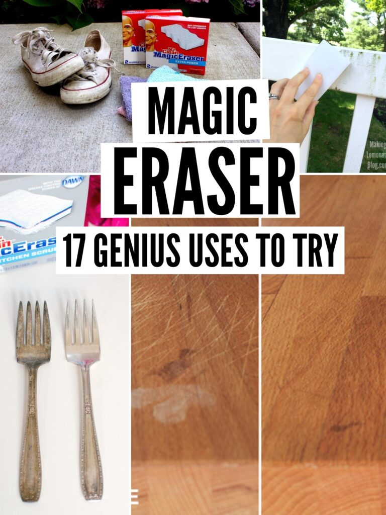 how to use a magic eraser pin image