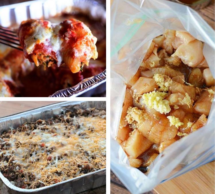 31 Days of Freezer Meal Recipes