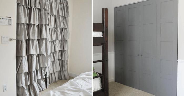 18 Makeover Closet Door Ideas That'll Give You Closet Envy