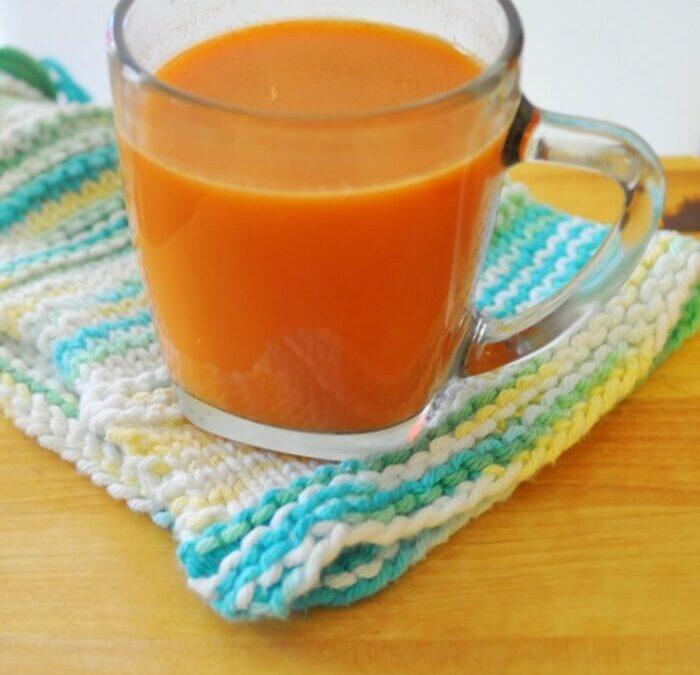 Apple Carrot Cider Recipe (For Immune Support)