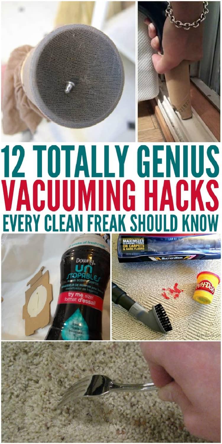 12 Totally Genius Vacuuming Hacks Every Clean Freak Should Know