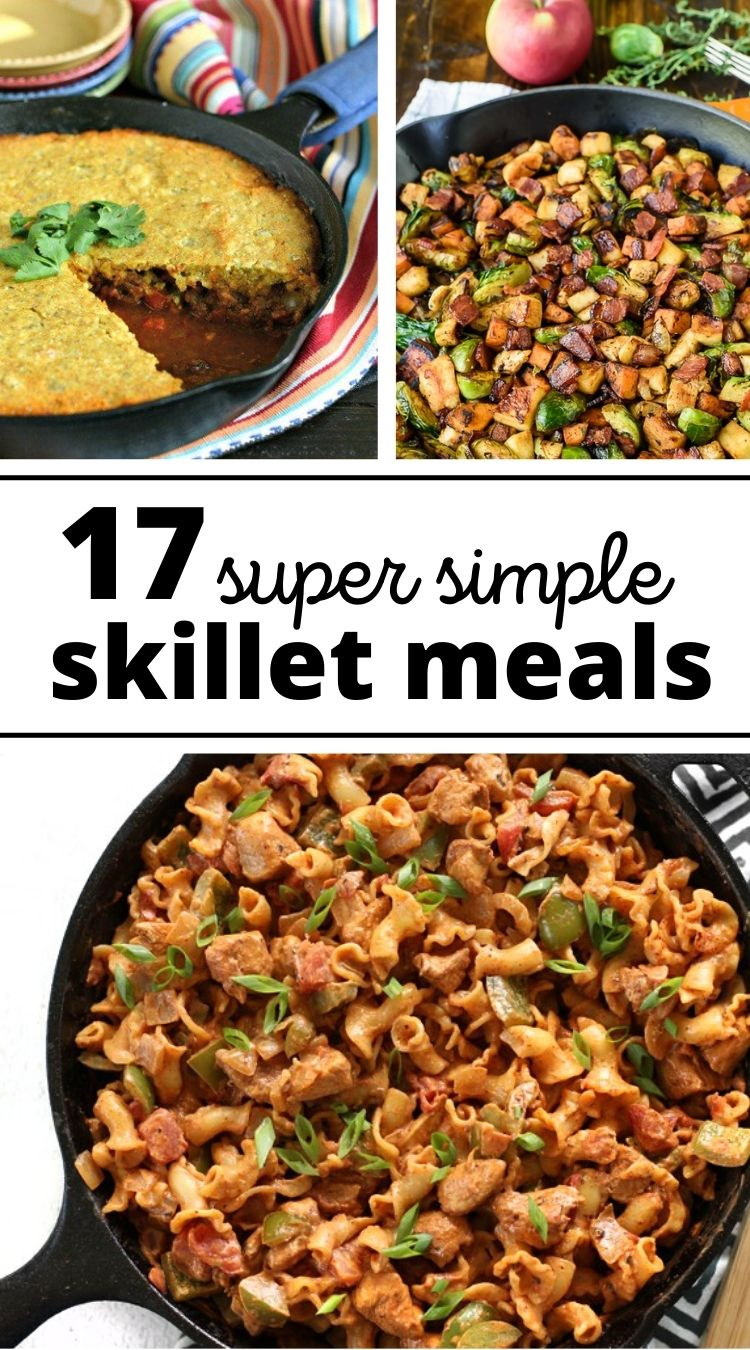 Skillet Meals with a Cast Iron Pan