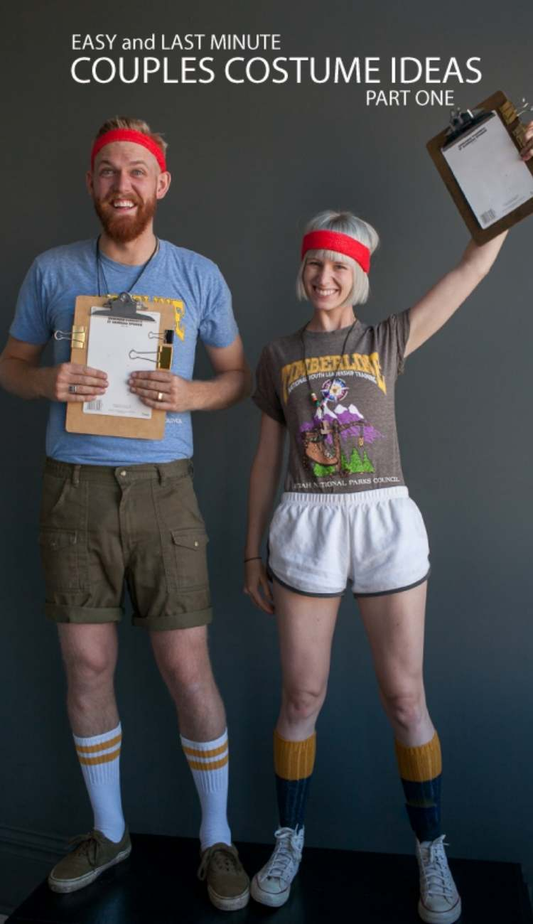 Easy couples costumes - camp counselors costumes