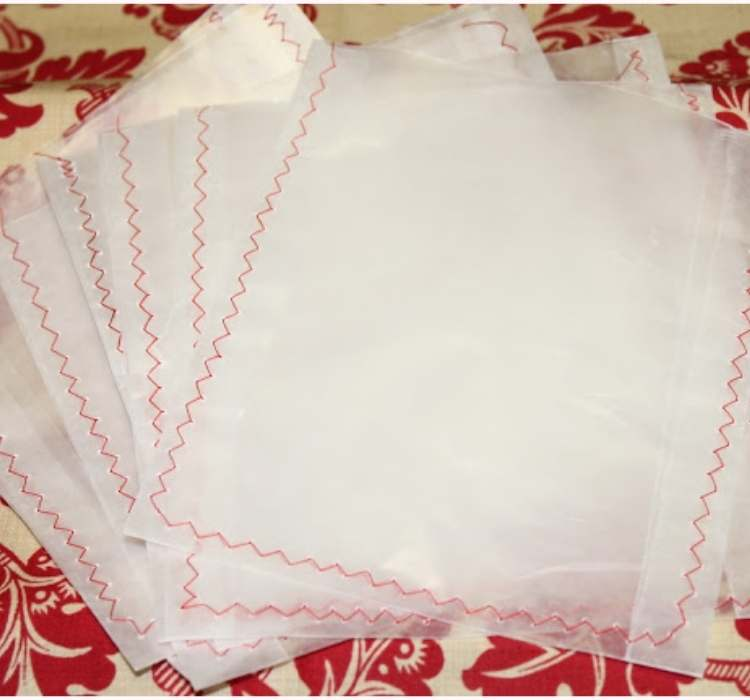 Picture of wax paper treat bags