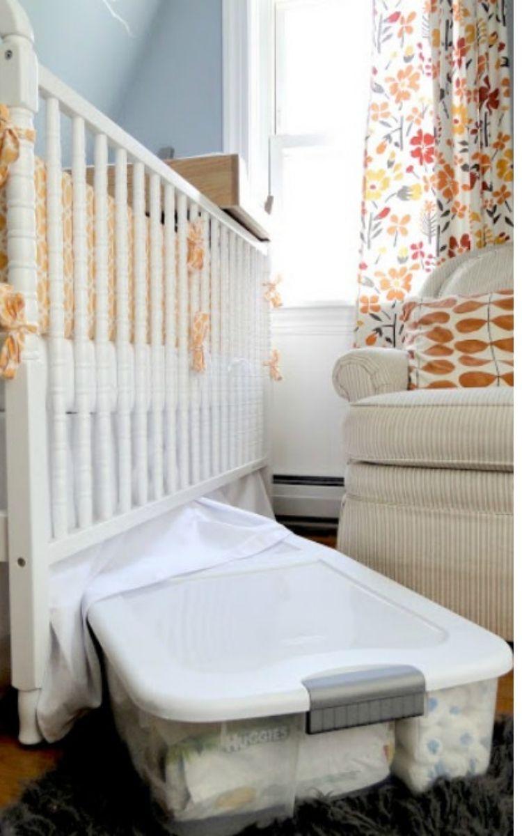organize kids rooms with under bed storage bins
