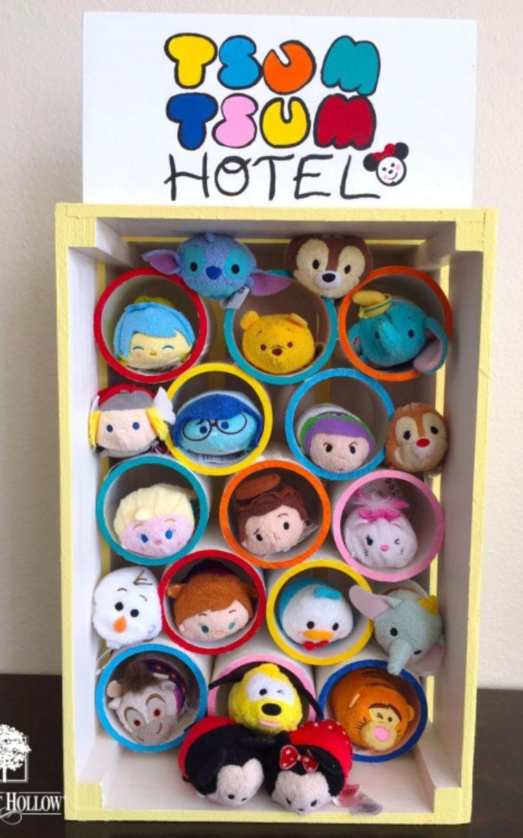 Stuffed animal storage is awesome kids room organization ideas