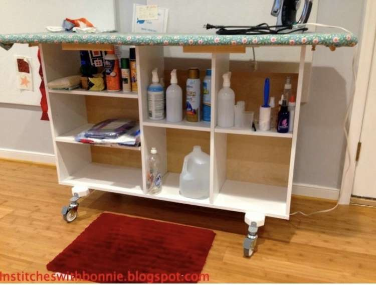 Ironing Station in Wheels