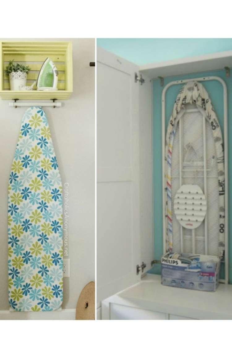 Ironing Board Storage Ideas