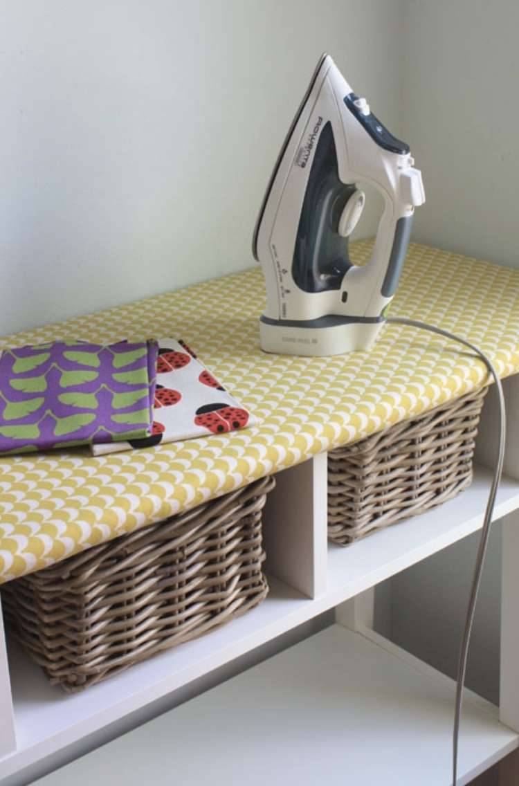IKEA Hack Ironing Board Table