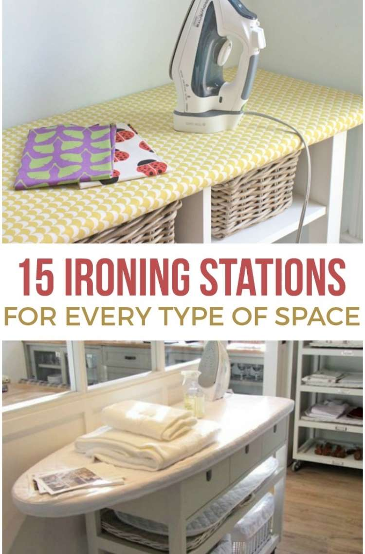 15 Ironing Station for Every Type of Space