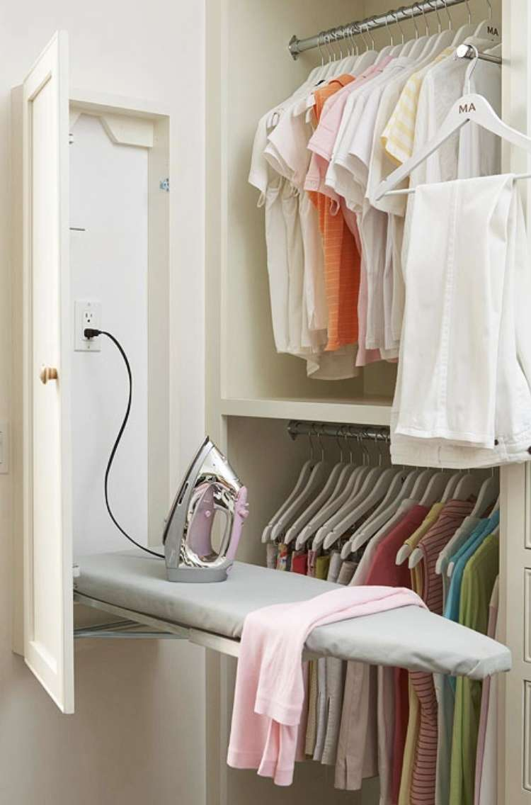 Recessed Ironing Board