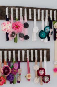Baby Headband Holder Storage Solution