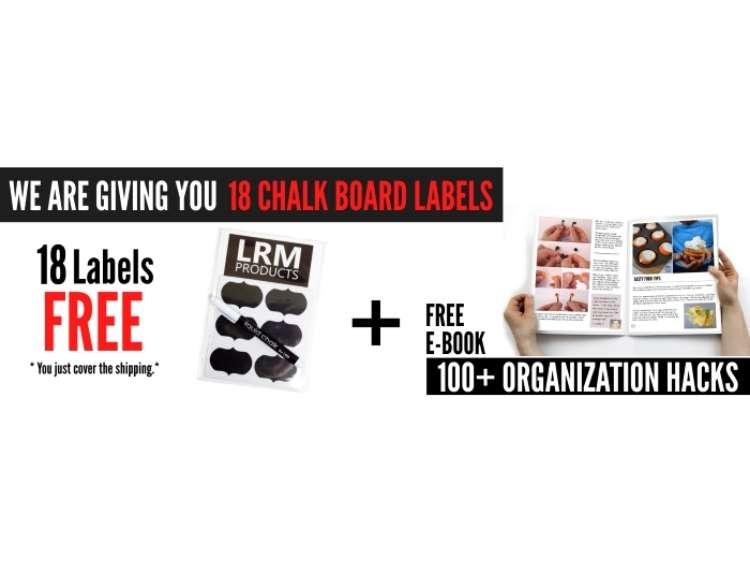 Onecrazyhouse Linen Closet Organization Banner for free chalk board label offer