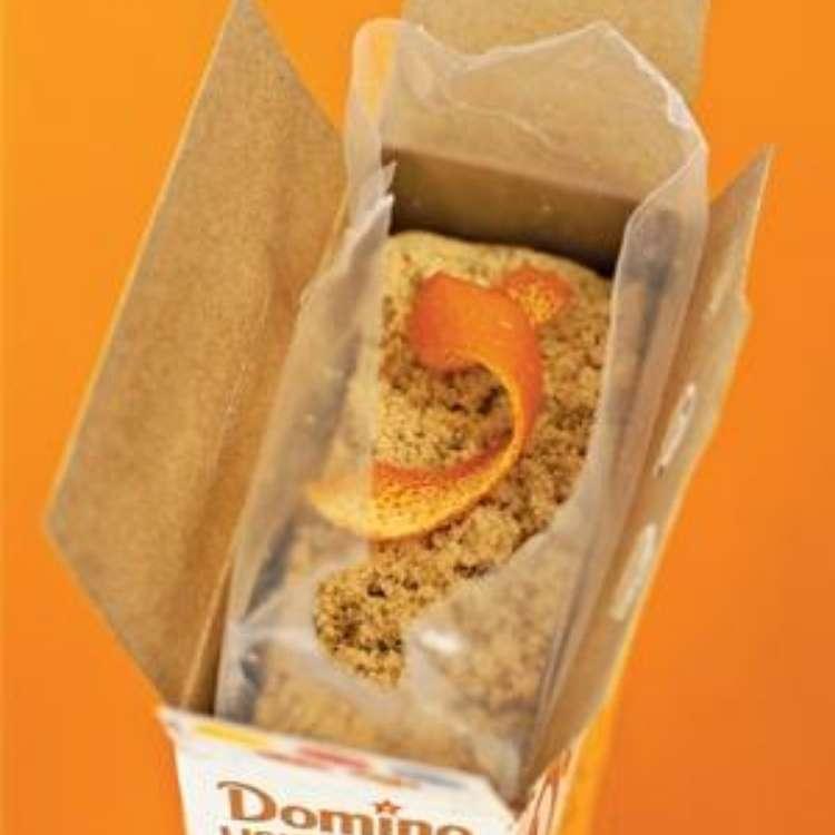 Orange Peel Uses - Brown sugar in a box with orange peel as sugar softener
