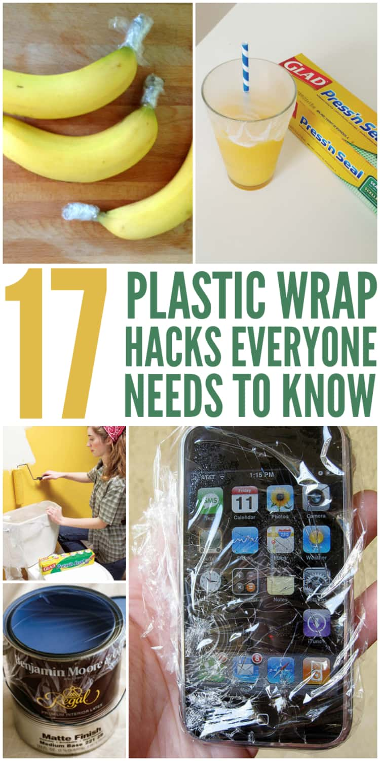 Plastic wrap isn't just for left-overs anymore. Check out the clever ideas and tips to enhance the use of this everyday item.