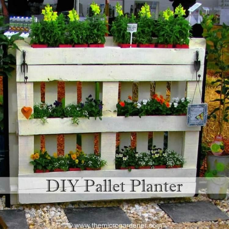 Pallet Ideas planter