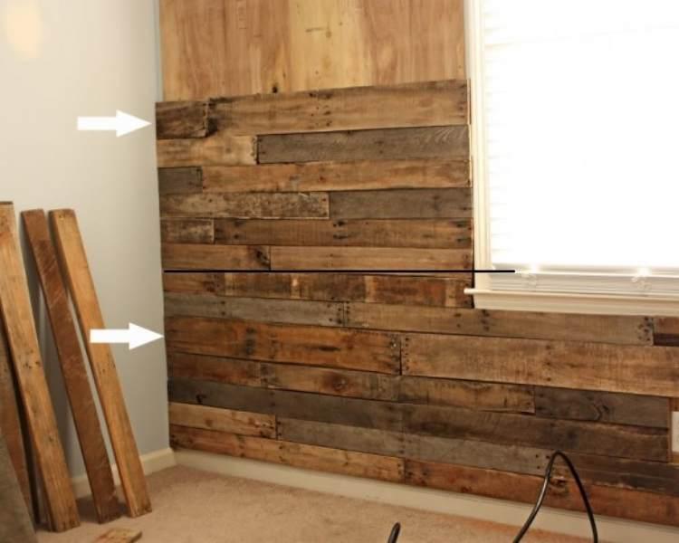 DIY pallet ideas for nursery wall
