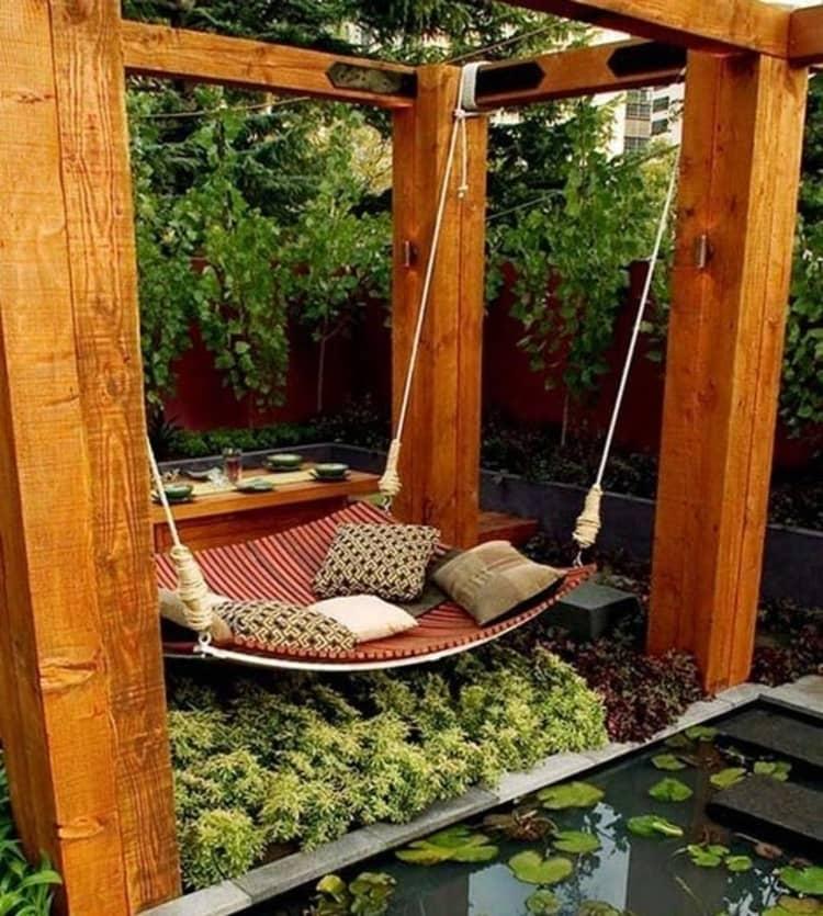 Backyard DIY Ideas - sanctuary